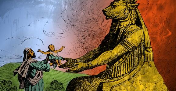 THE BOHEMIAN GROVE - Worshipping Molech - Child Sacrifice ...